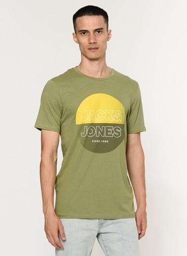 Jack & Jones Jcofadıng Tee Crew Neck Fst Yeşil